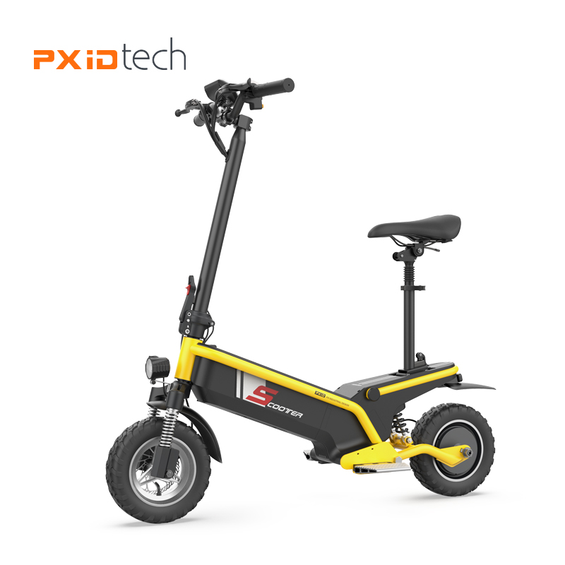 2019 <strong>10</strong> in tubeless Tyre 48V 500 <strong>W</strong> off road electric scooter foldable trotinette electric