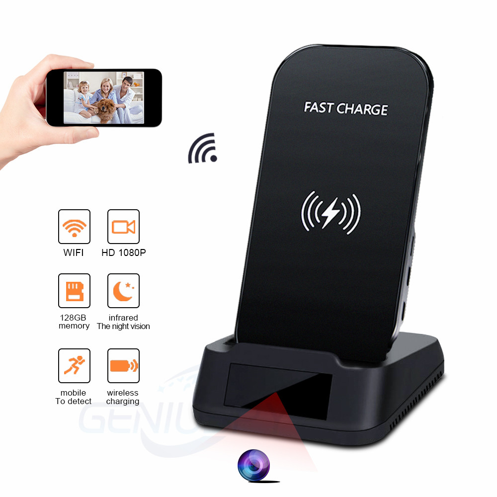 Full Hd 1080P Security Mini Wireless Wifi <strong>Phone</strong> Charger Spy Camera Power Bank Hidden Camera