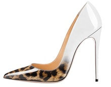 animal print new arrive 2020 12 custom pointed toe office lady high heel women's dress <strong>shoes</strong>