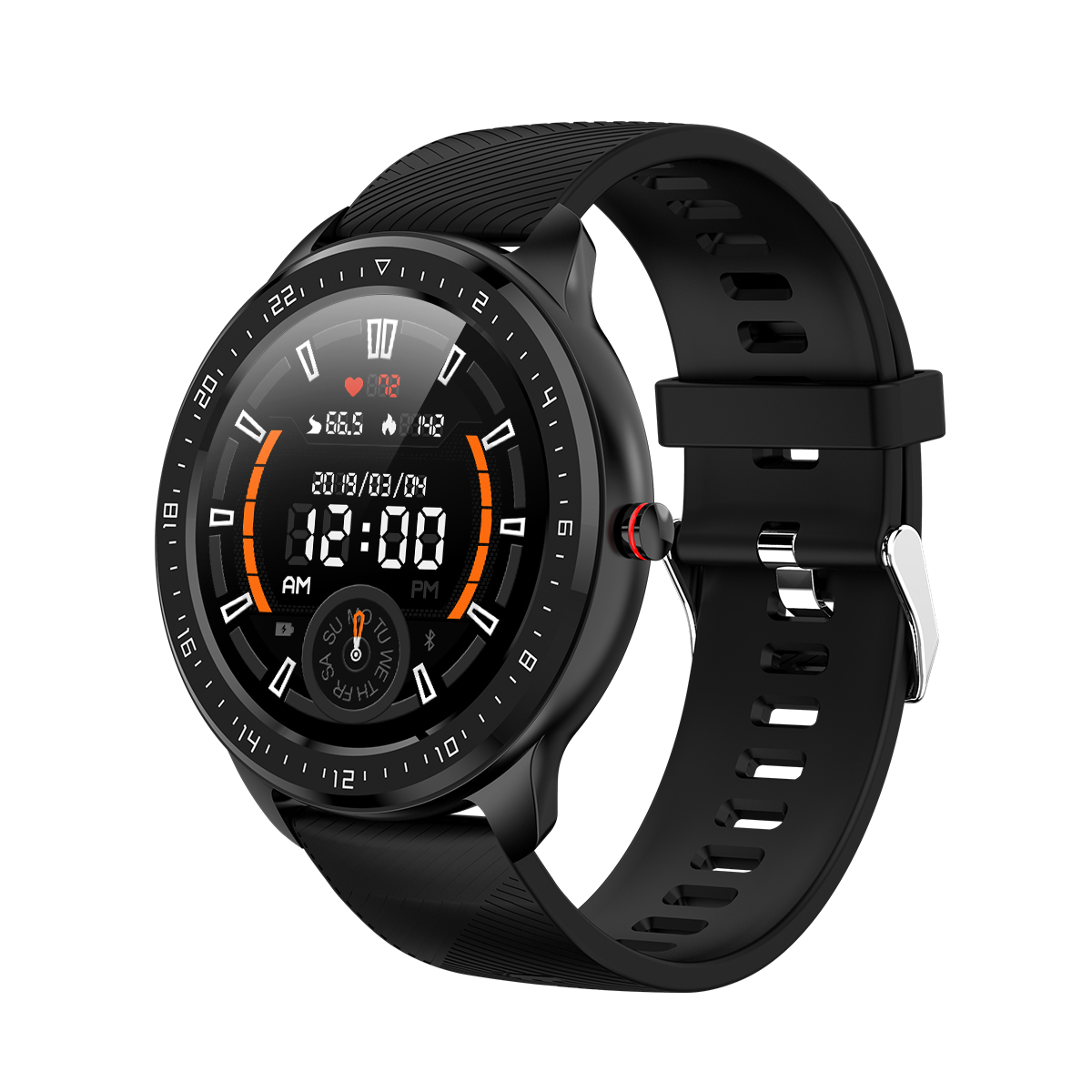 LEMONDA SMART <strong>Z06</strong> 1.3'' Full Touch HD Round Screen Heart Rate Monitoring Smart Watch