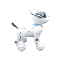 Children remote control electric toy dog dialogue walking and singing robot intelligent bionic sensing mechanical pet dog