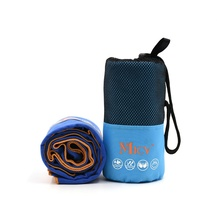 New hot product Customized size microfiber sports <strong>towel</strong> with mesh bag packed