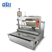 Perfume box cellophane wrapping machine, cellophane sealing machine, playing card cellophane wrapping machine