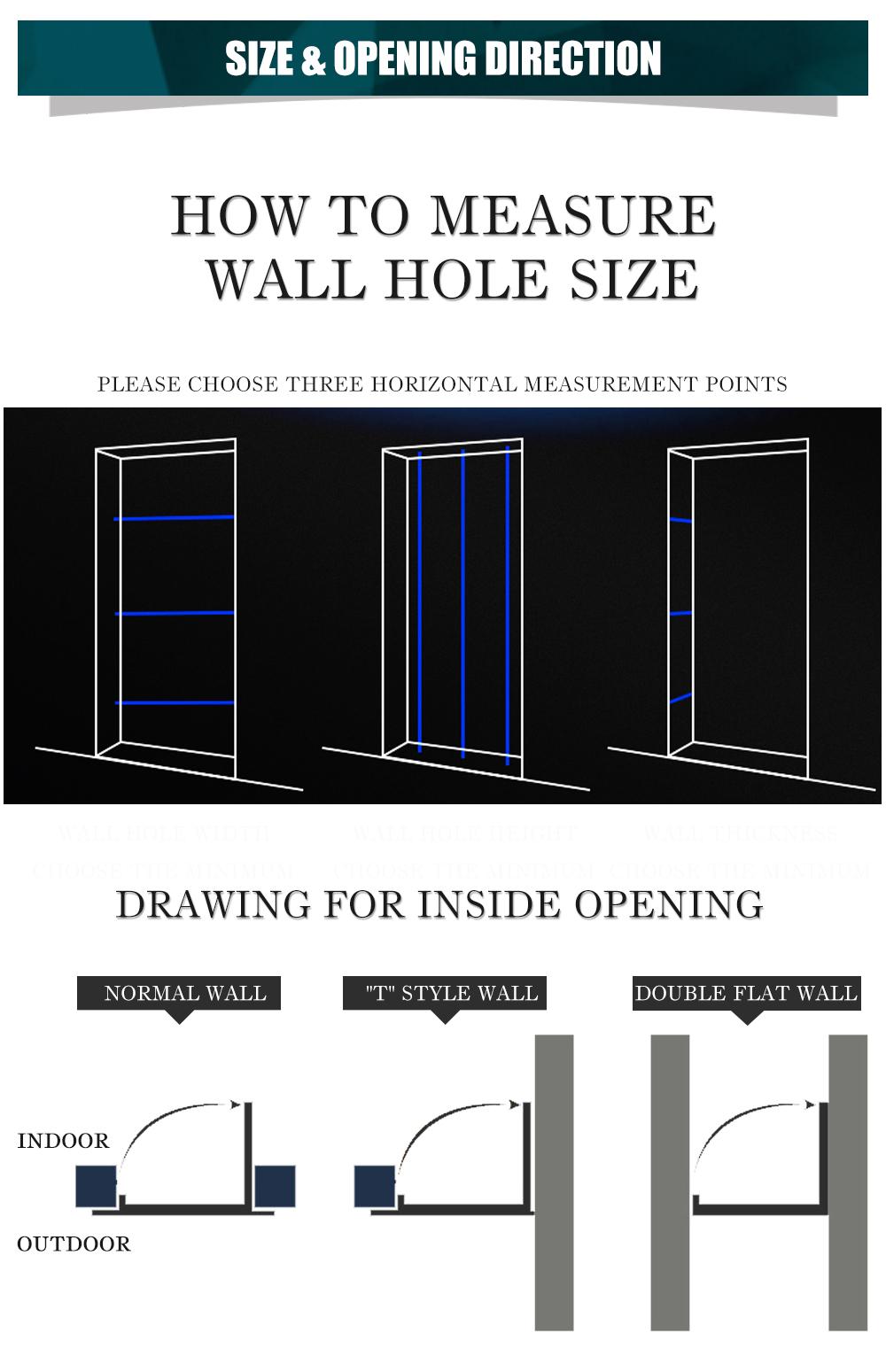 High quality luxury exterior villa front entrance steel security door soundproof design