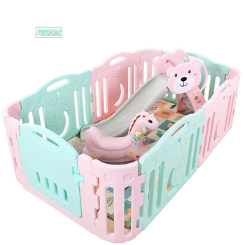 Preschool toys baby plastic fence playpen baby for baby