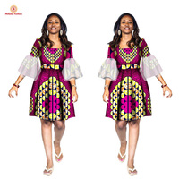 Factory direct selling african print clothes clothing women dress american The most competitive price