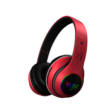 ST-L63 Free <strong>Sample</strong> 2020 New OEM LED light Hi-Fi True Stereo Bluetooth Audifonos Headset Headband Headphone Wireless