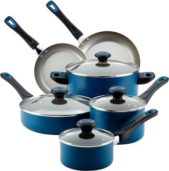 High quality 15 piece cookware set aluminum pots and pans
