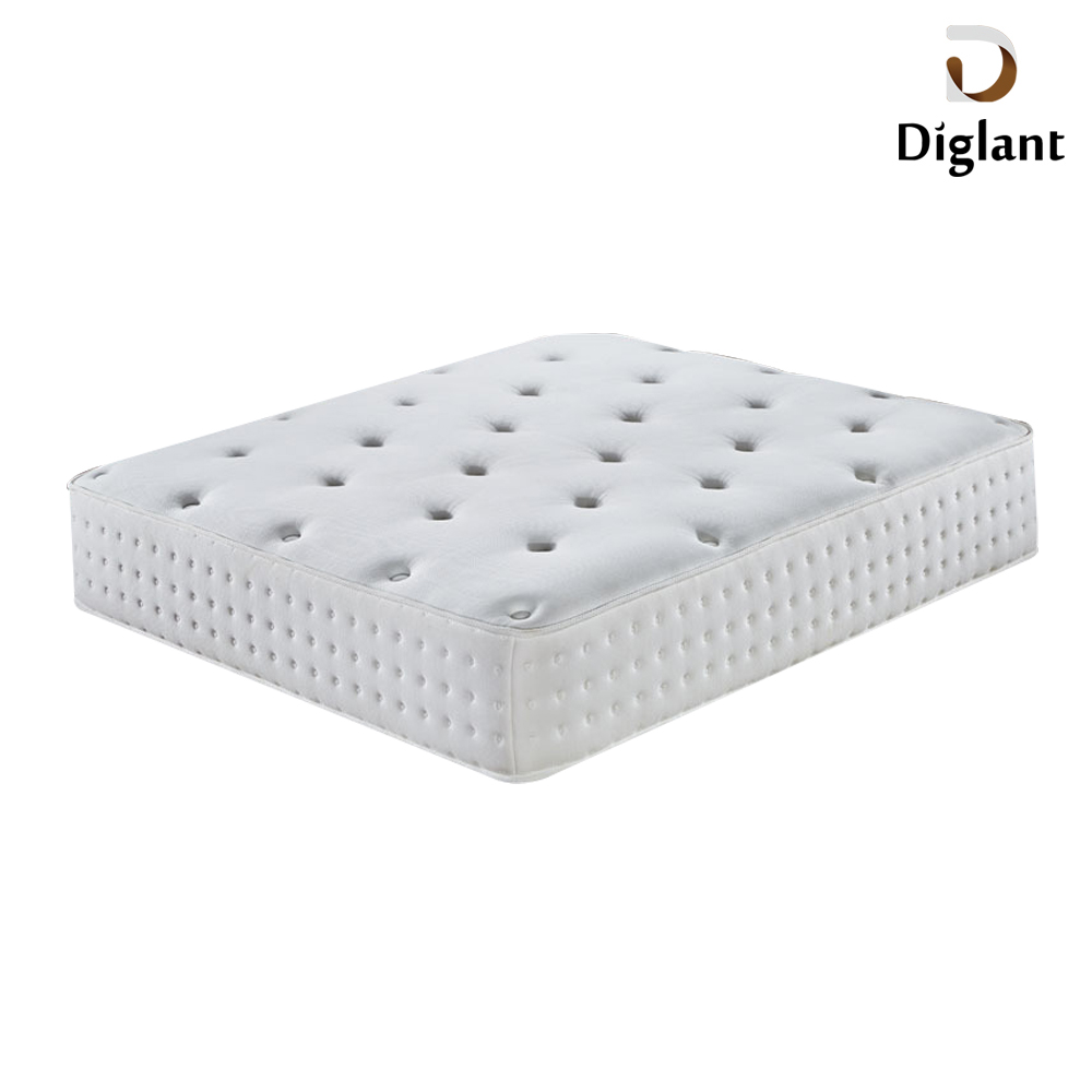 DM0107 Diglant Gel Memory Latest Double Fabric Foldable King Size Bed Pocket bedroom furniture negative ion latex mattress - Jozy Mattress | Jozy.net