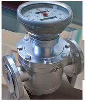 DN15 150-1500L/H High Viscosity Vegetable Oil Flow Meter Diesel Fuel Oval Gear Flowmeter