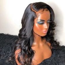 Brazilian Human Hair Lace Front Wigs For Black Women Sale Body Wave Virgin Hair Extensions Lace Frontal Wig Natural Double Drawn