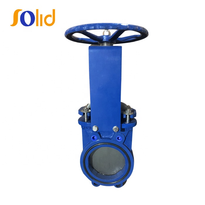 High Quality DN50-DN1600 slurry knife sluice gate valve