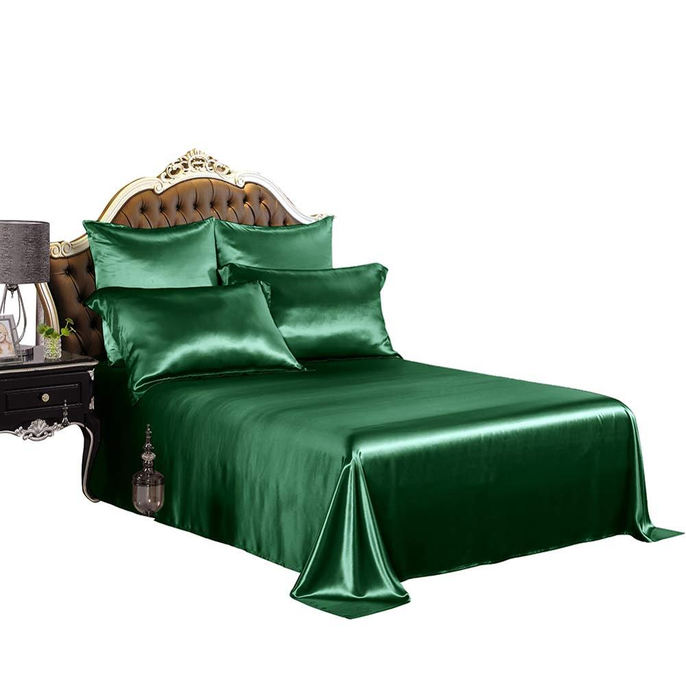 Luxury Silk Bed <strong>Sheets</strong> 4 Pcs, 19MM Silk Bedding Sets ,100% 6A Mulberry Silk, King Size