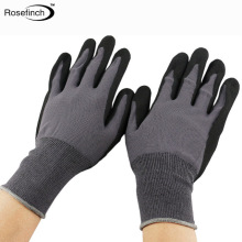 13g Polyester gloves Industrial Sandy Nitrile Coated work gloves <strong>safety</strong> Sandy Nitrile Coating Anti slip Glove EN 388 4121