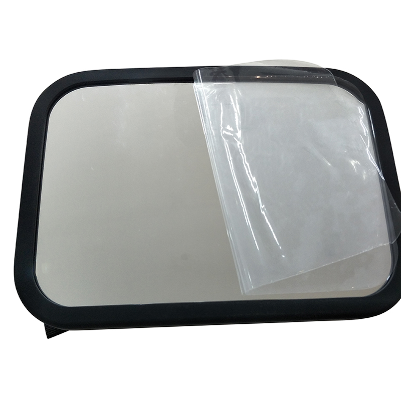 2019 Amazon hot selling Big Size Safety Acrylic Shatterproof Backseat Wide Clear Rear View Baby Car Mirror for car
