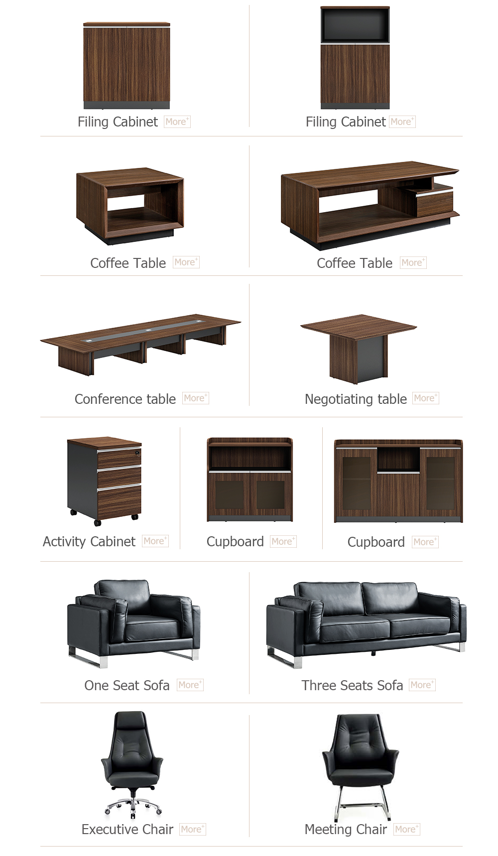 Hot Selling Director Executive Melamine Office Desks Office Furniture For Office Contract (KT-D0318)