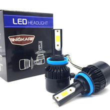 Hot selling bulb <strong>Auto</strong> Led Lamp M8 36W 8000lm H8 H9 H11 Car Led Headlight