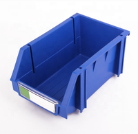 ISO Industrial warehouse plastic stackable storage bin & box