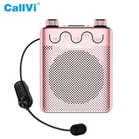 CallVi V-807 portable bluetooth UHF wireless voice amplifier for active speaker