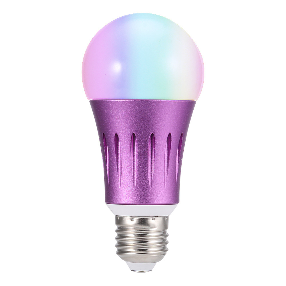 E27/E26/ WiFi Smart Light <strong>Bulb</strong> 7W WIFI Intelligent <strong>Bulb</strong> 40m RGB Remote Control <strong>Bulb</strong> Voice Remote Control lighting Wake-Up Lights