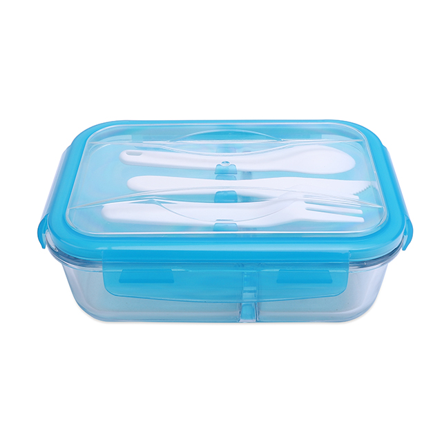 Professional baby food glass container boxes storage compostable bento box with CE certificate