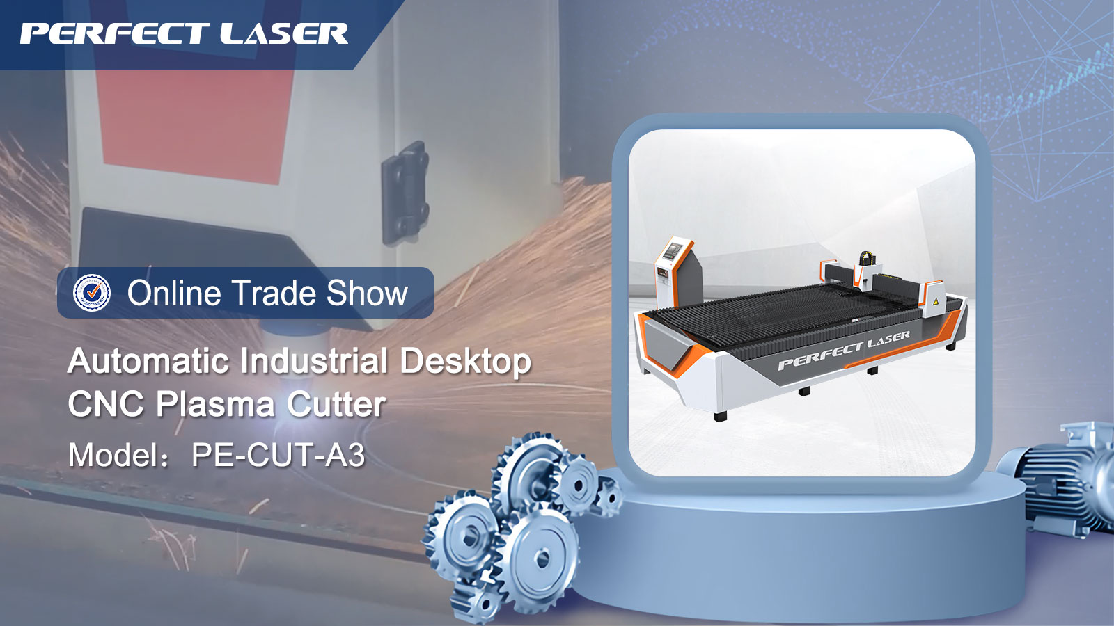 Heavy duty desk type plasma cnc cutting machine