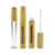 empty bamboo cosmetic packaging 5ml 10ml lip gloss container tube for lipstick eyebrow cream