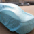 UV resistance white PP car cover 20gsm Windshield Window Car Cover