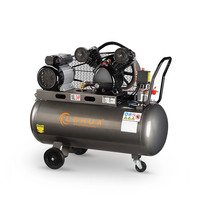 Supply 200L 3HP air compressor with cast iron pump