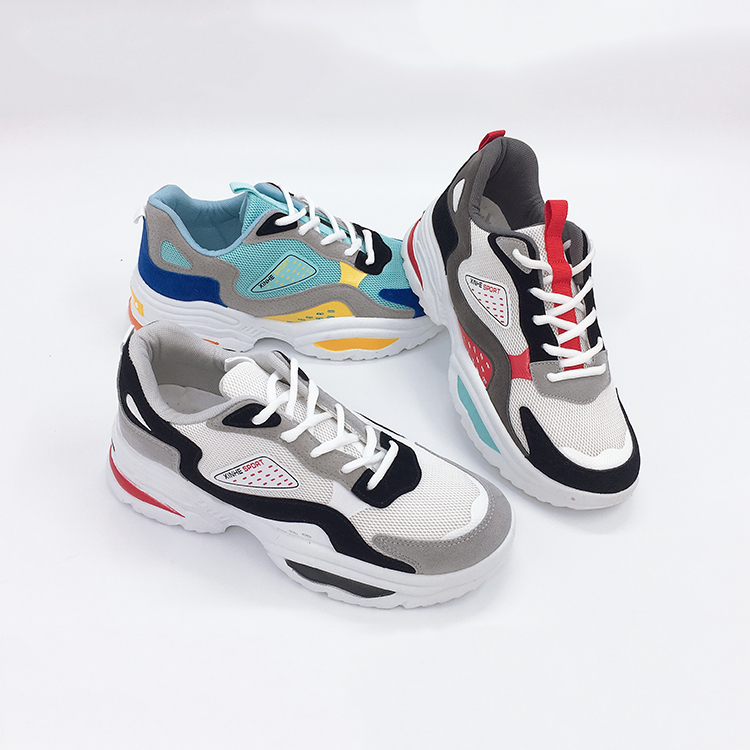 Fashion Cheap Sports Shoes Men High Waterproof Bottom Pvc Heel Stickers Casual Sport Shoes Casual Athletic Shoes