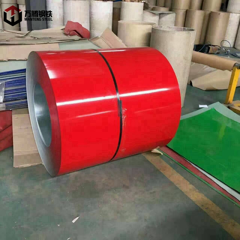 color coated galvanized steel coil ppgi from Chinese factory Quality first with BIS certificate