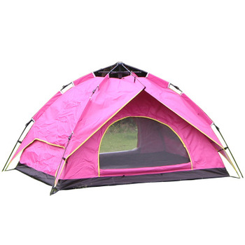 Double-layer outdoor sports portable tent tourism and leisure tent