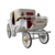 Luxury four wheels sightseeing electric royal horse carriage for sale