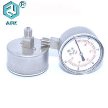 Stainless Steel 316 Gas Pressure Test Gauge For Oxygen