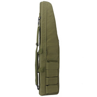 Custom Wholesale 120CM 100CM waterproof tactical rifle case durable long gun bag wear-resistant airsoft gun cases