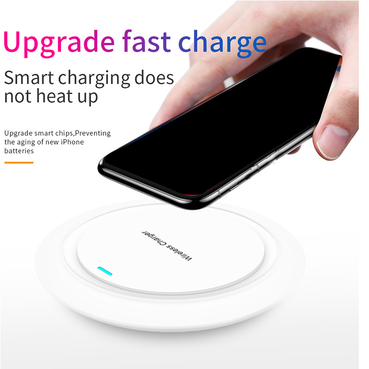 Custom Logo Slim <strong>Mobile</strong> <strong>Phone</strong> Use Charging Wireless Charger Pad