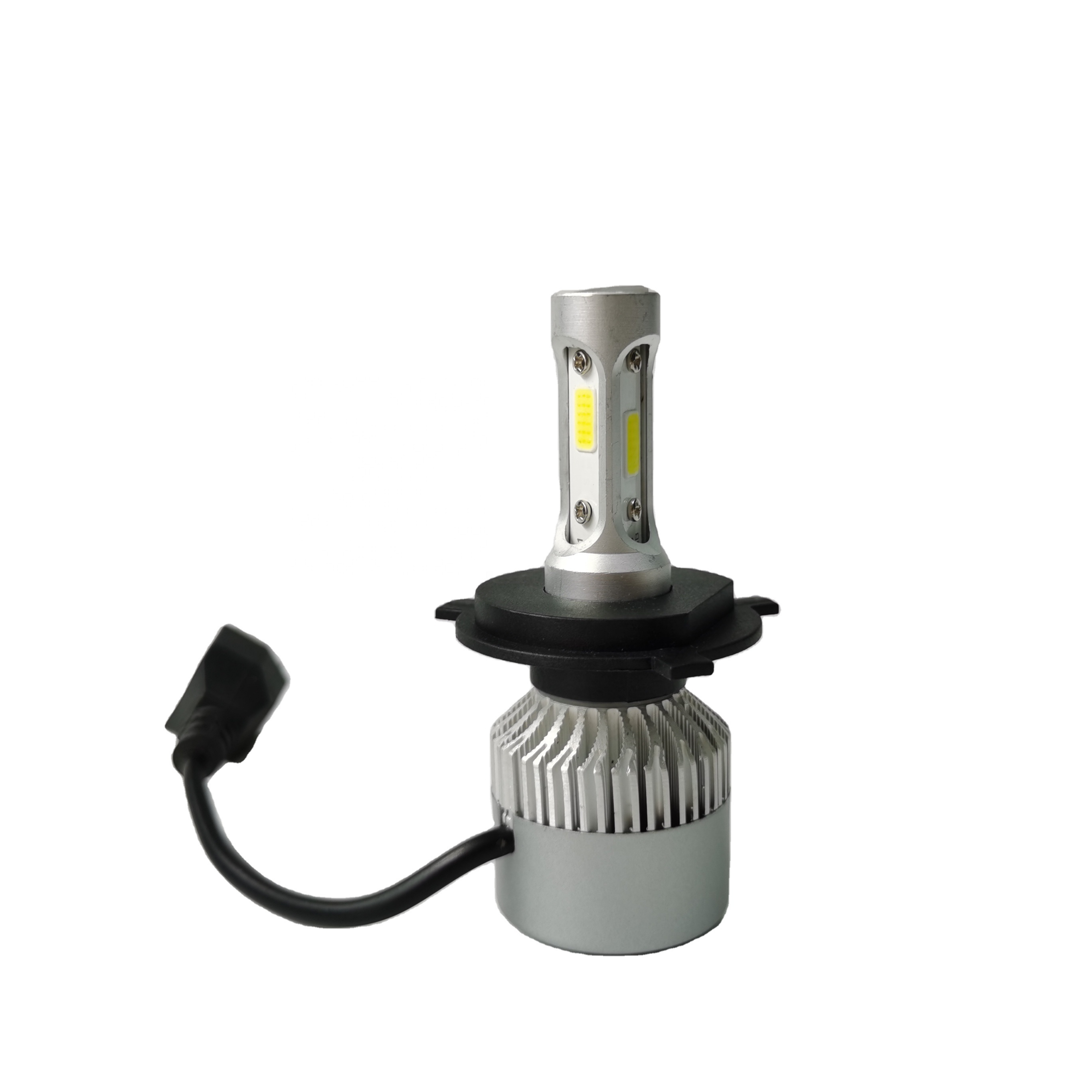 LED Headlight S2 72W 8000LM COB H4 Car <strong>Auto</strong> H1 H3 H8 H9 <strong>H10</strong> H11 9005 9006 H7 bulb led 12v