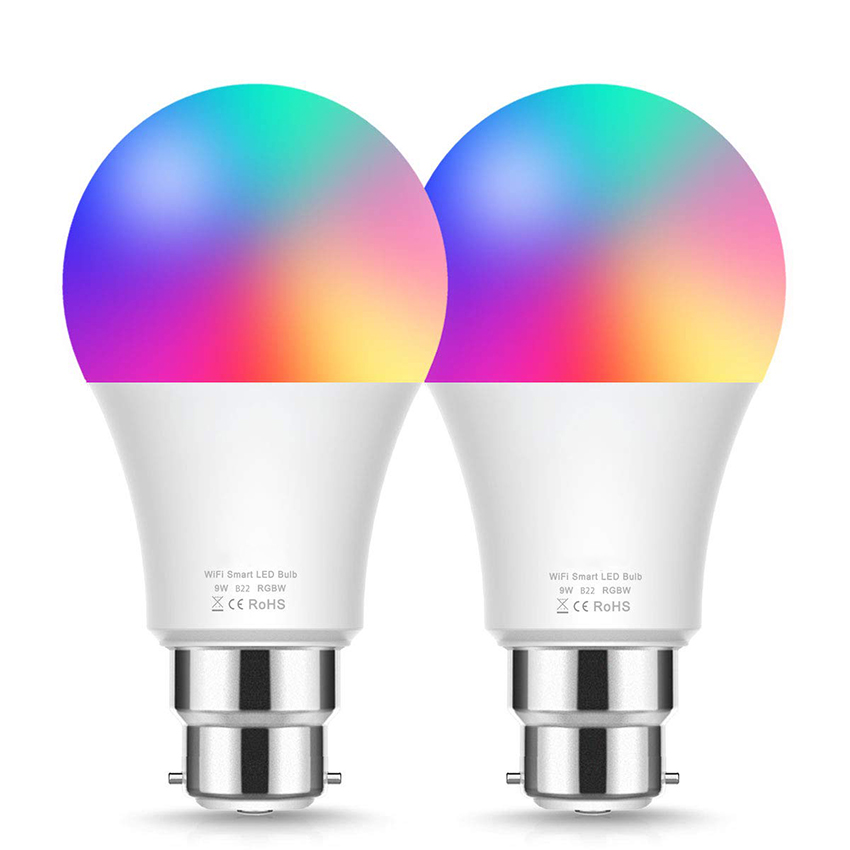 E26/27/B22 Wifi <strong>Bulb</strong> Work with Alexa and Google Assistant Charge Colour Smart Light Led <strong>Bulb</strong>