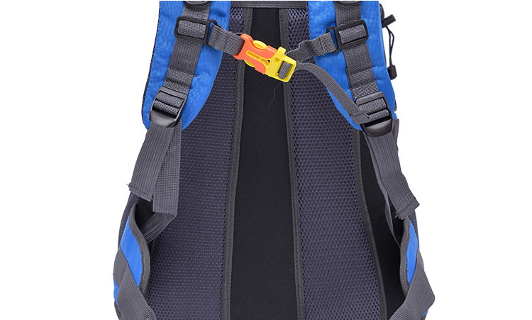 Custom high quality ripstop nylon 60L large capacity water proof durable multifunctional men women unisex sports back pack