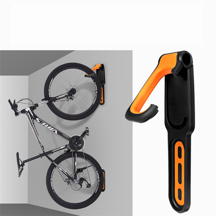 Best Quality Bicycle Anti-slip Adjustable Storage Wall Rack Foldable Bike Wall Hook Storage Rack bicycle Parking Stand