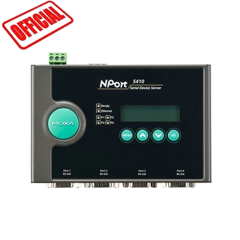 MOXA NPort 5410 electric device converter WITH 4 PORTS rs-232 ethernet converter rs232 ORIGINAL MOXA TAIWAN