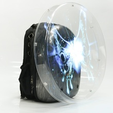 Backpack 50cm Advertising Holographic <strong>LED</strong> <strong>Display</strong> 3D Hologram Fan with Cover