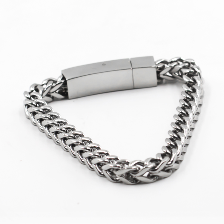Hot selling high quality of new fashion design man stainless steel jewelry bracelets and bangles