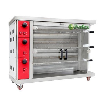 Stainless Steel Gas Chicken Rotisseries /Grill Chicken Gas Oven for Sale