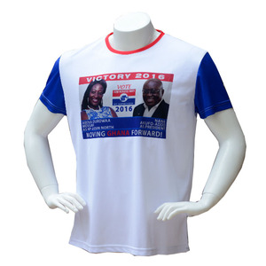 Cotton blank election t shirt cheap wholesale plain white tshirt manufacture guangzhou china