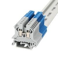 WONKEDQ JUK 2.5B 2.5mm Screw Din Rail Terminal Block