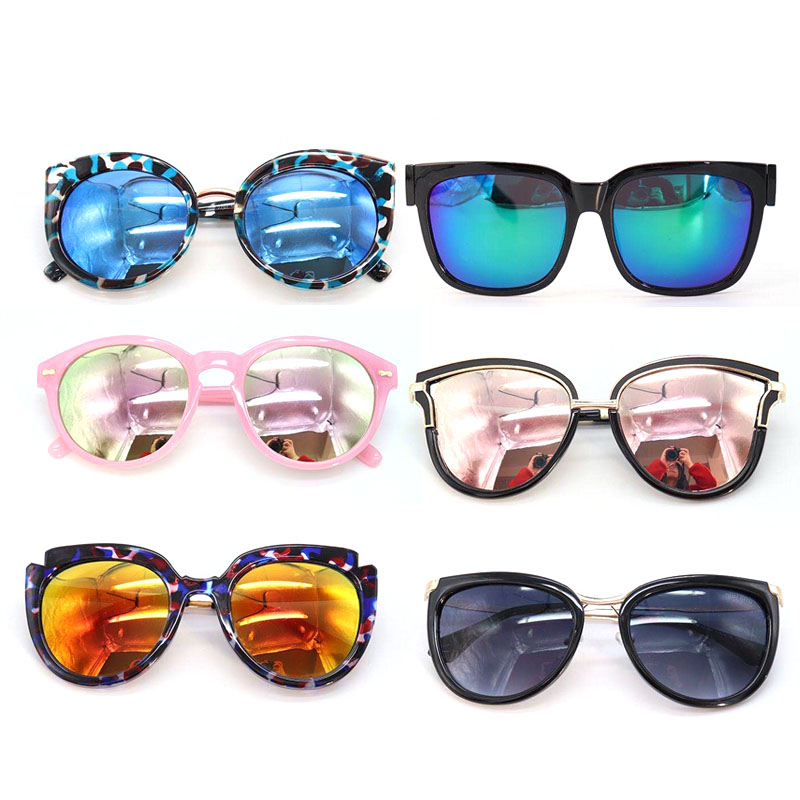 assorted ready mixed stock acetate sunglasses