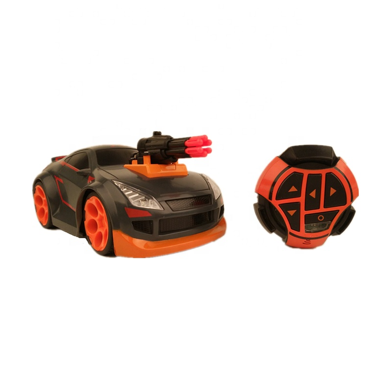 2.4G RC Stunt Car Rolling Watch <strong>Remote</strong> Control Car With light Electric Plastic Car