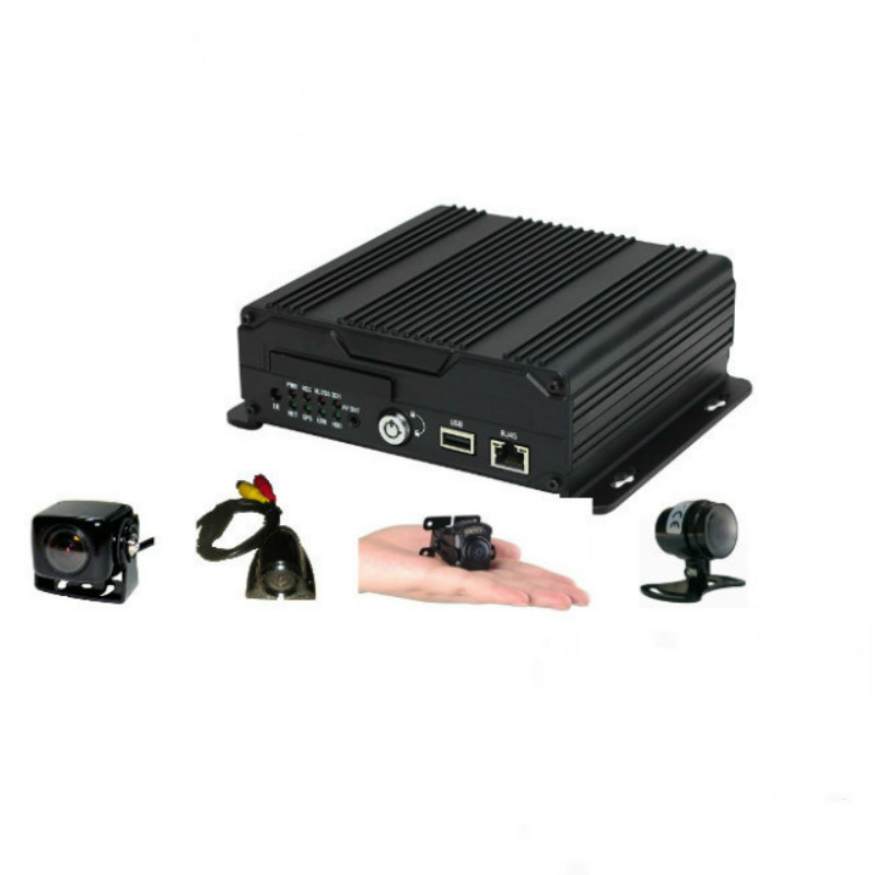 <strong>4CH</strong> AHD 720P Hard Disk Mobile Vehicle <strong>DVR</strong> 4G live streaming GPS tracking and WIFI