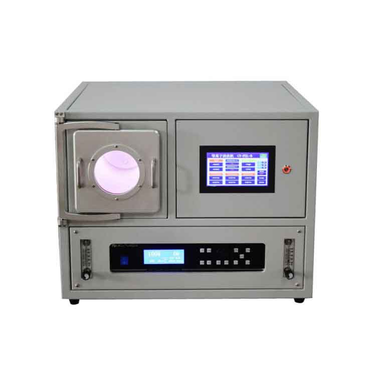 Plasma cleaning equipment for surface modification of polymer materials